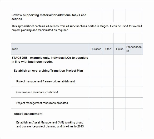 Knowledge Transition Plan Template Elegant 11 Transition Plan Templates – Free Sample Example
