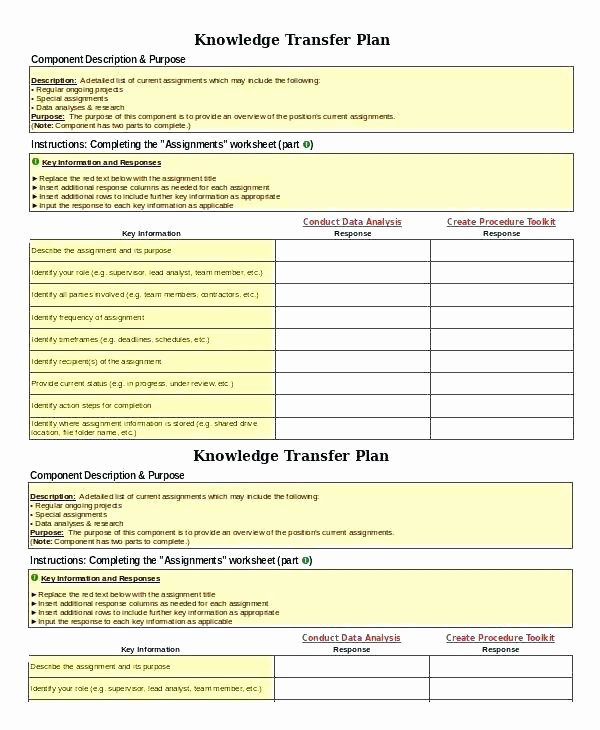 Knowledge Transition Plan Template Inspirational Sample Day Plan Templates Sample Templates Day Transition