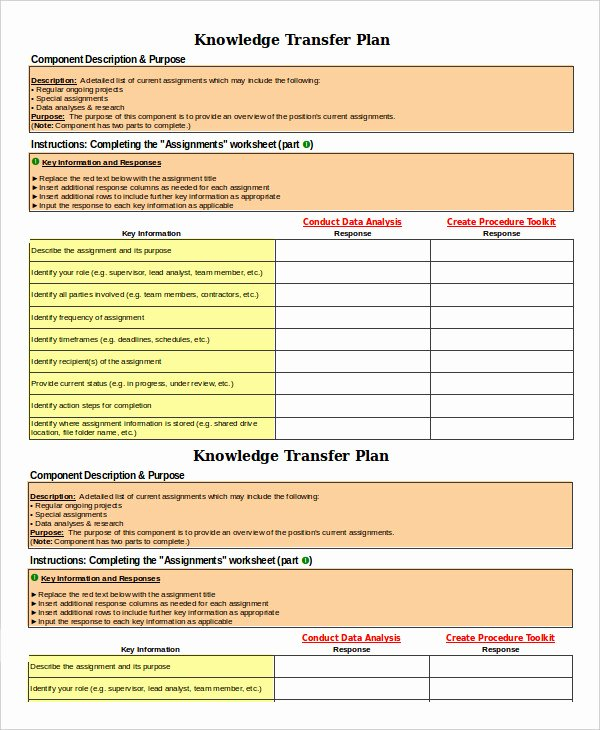 Knowledge Transition Plan Template Luxury 7 Transition Plan Template Ai Psd Google Docs Apple