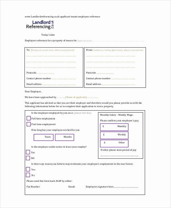 Landlord Letter Of Recommendation Inspirational 7 Sample Landlord Re Mendation Letters
