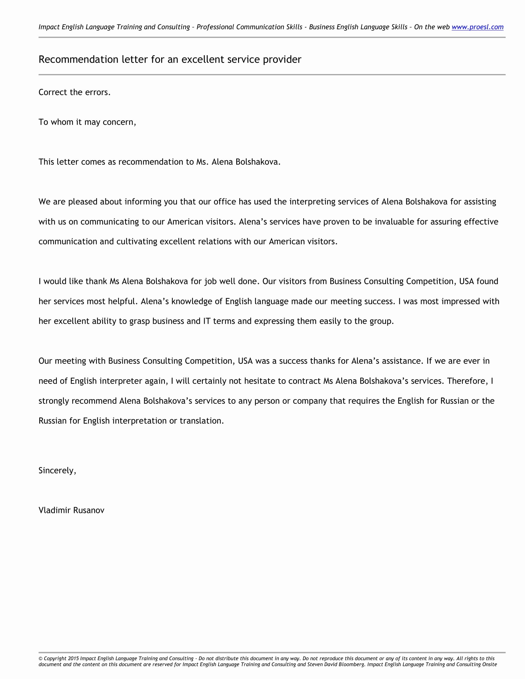 Late Letter Of Recommendation Inspirational 10 Business Reference Letter Examples Pdf