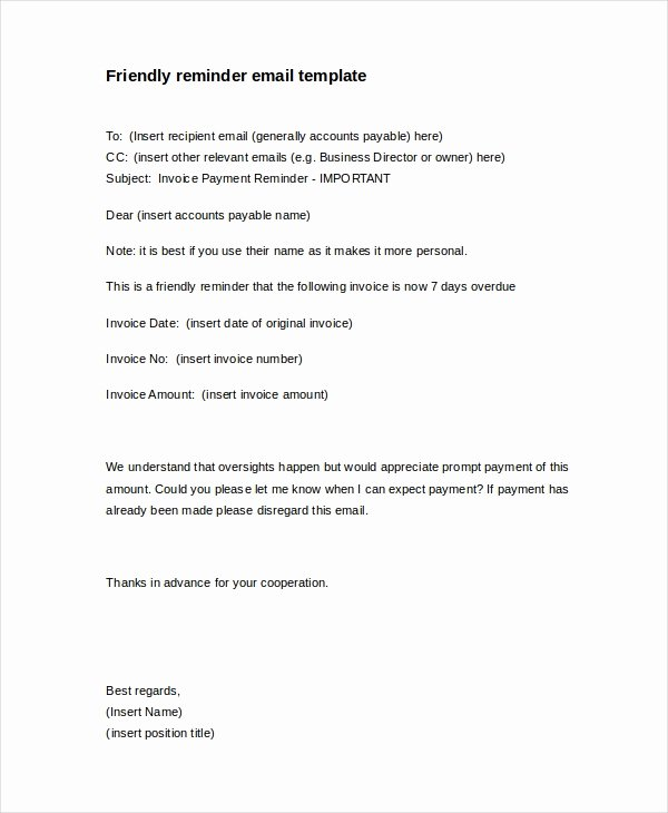 Late Letter Of Recommendation Luxury 15 Payment Reminder Letter Templates Pdf Google Docs