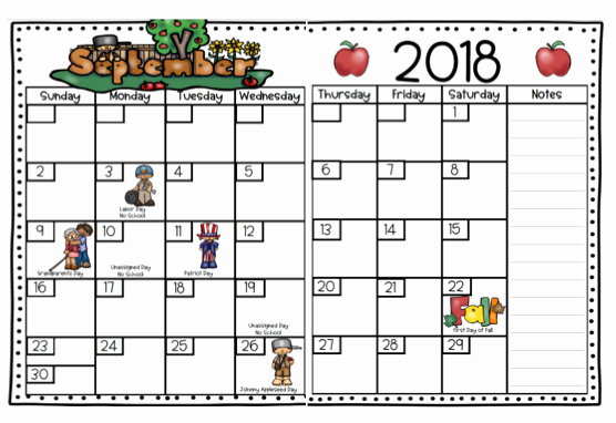 Lausd Lesson Plan Template Lovely Lausd 2018 Calendar Lausd Lesson Plan Template