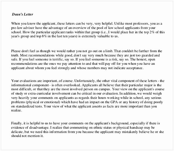 Law School Recommendation Letter Sample Awesome Sample Letter Of Re Mendation for Graduate School From