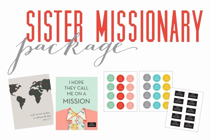 Lds Mission Call Letter Template Beautiful Sister Missionary Free Printables Alex Obering