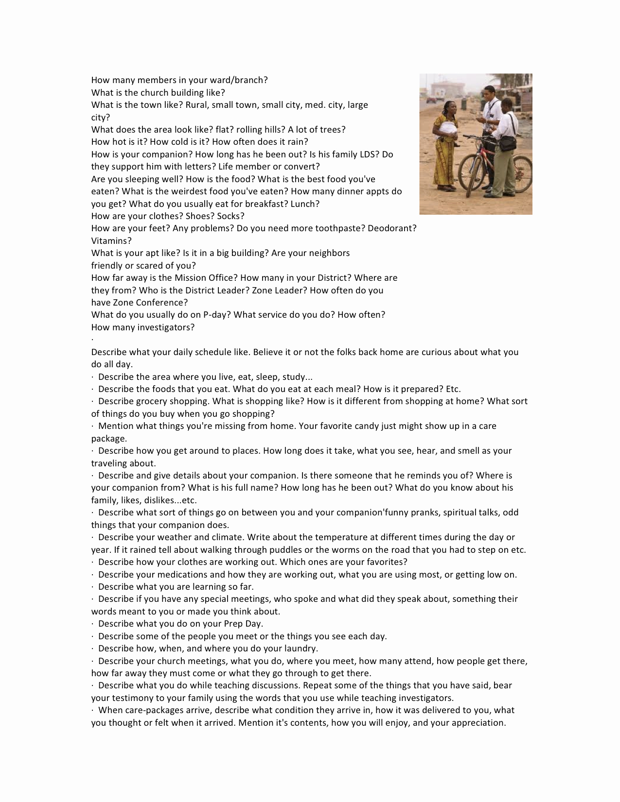 Lds Mission Call Letter Template Best Of Questions to ask During A Missionary Call Home Could