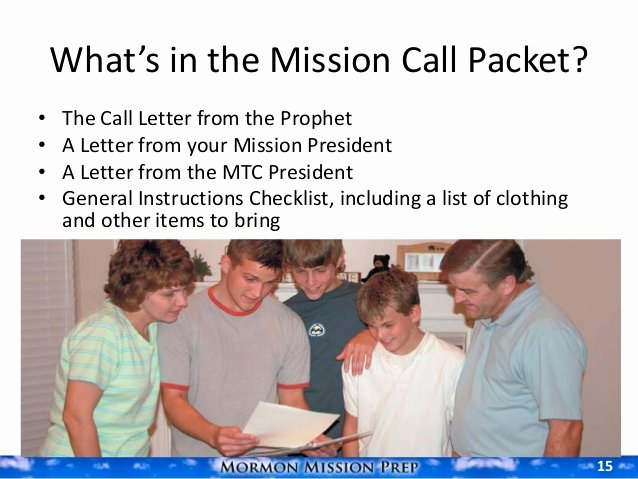Lds Mission Call Letter Template New Receiving the Call to Serve A Mission