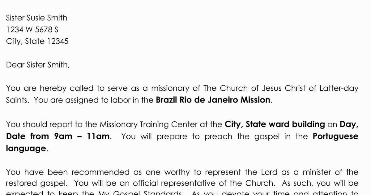 Lds Missionary Letter Template Awesome so You Think You Can Learn Primary Activity Missionary