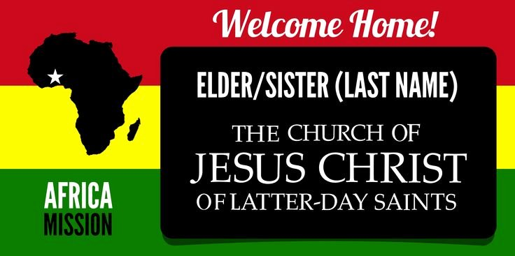 Lds Missionary Tag Template Lovely Lds Missionary Banner Template Fully Customizable & Free