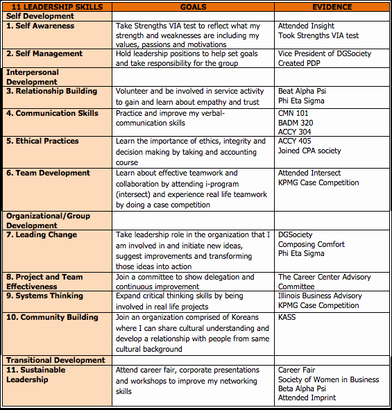 Leadership Development Plan Template Beautiful Leadership Development Plan Consulting