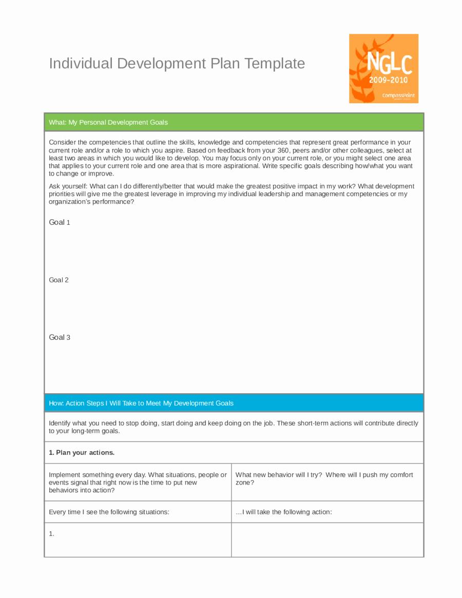 Leadership Development Plan Template Inspirational Personal Development Plan Template How to Write Personal