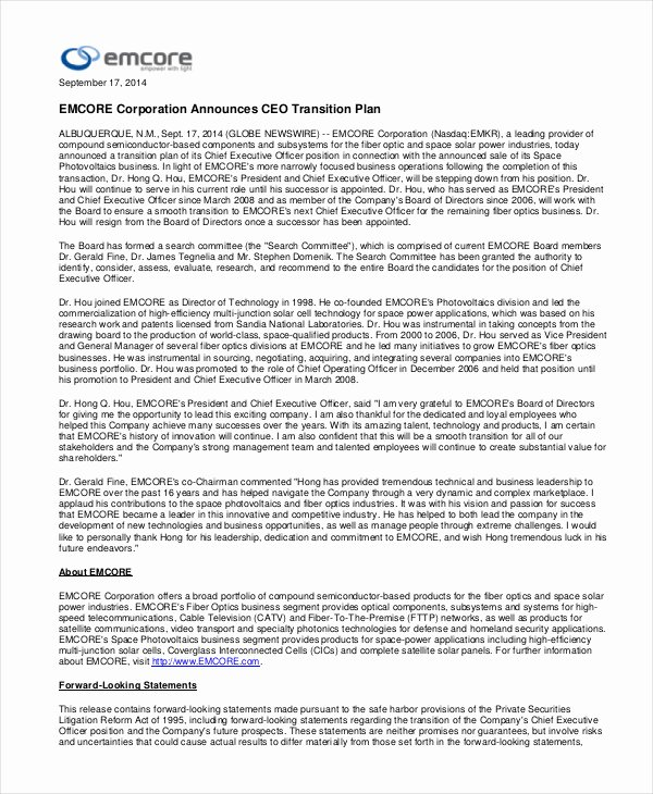 Leadership Transition Plan Template Best Of 7 Transition Plan Template Ai Psd Google Docs Apple