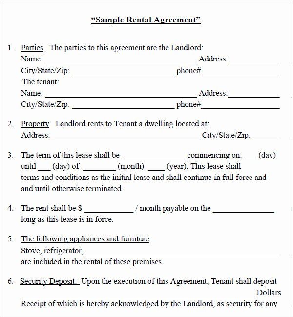 Lease Transfer Agreement Template Beautiful House Lease Agreement 7 Free Pdf Doc Download