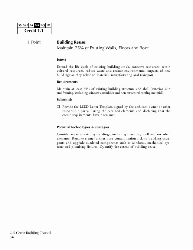 Leed Letter Templates Best Of Leed