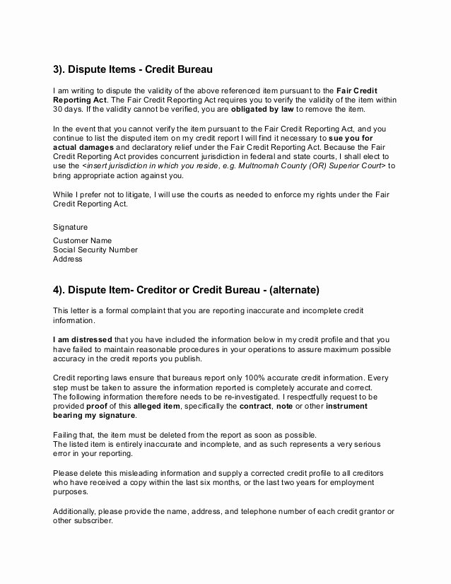 Leed Letter Templates Lovely 26 Of Credit Repair Bankruptcy Deletion Template