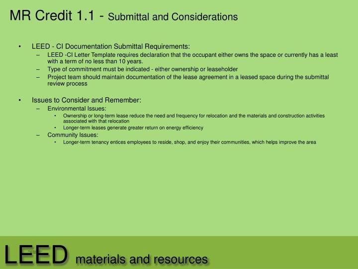 Leed Letter Templates Luxury Ppt Leed Powerpoint Presentation Id