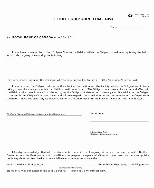 Legal Letter format Template Fresh Sample Letters 37 Free Sample Example format