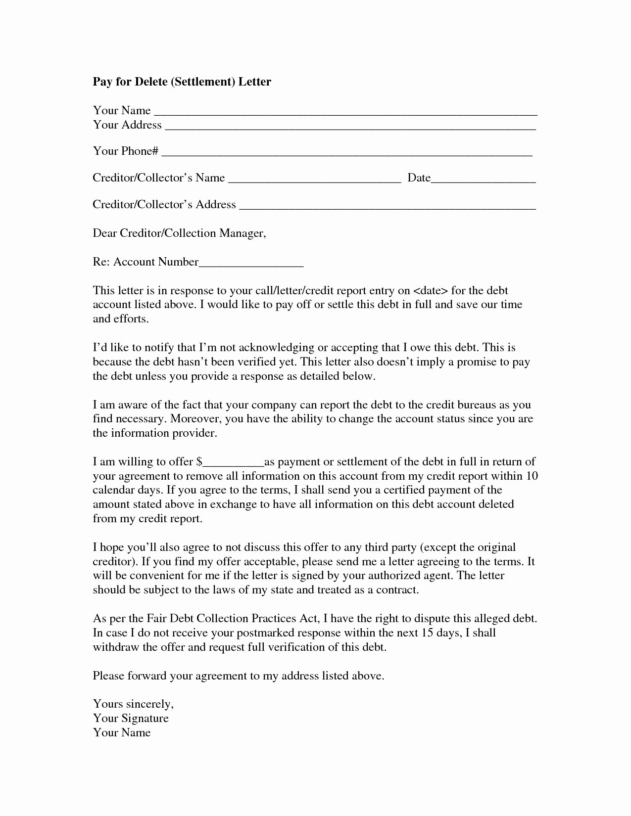Legal Letter format Template Inspirational Legal Settlement Fer Letter Template Examples