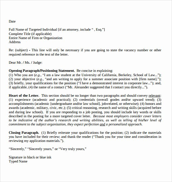 Legal Letter format Template Unique 7 Legal Letter formats Download for Free
