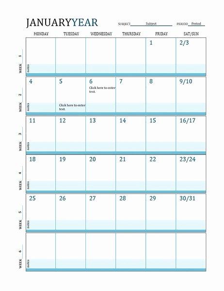 Lesson Plan Calendar Template Elegant Teacher Calendar Template Invitation Template