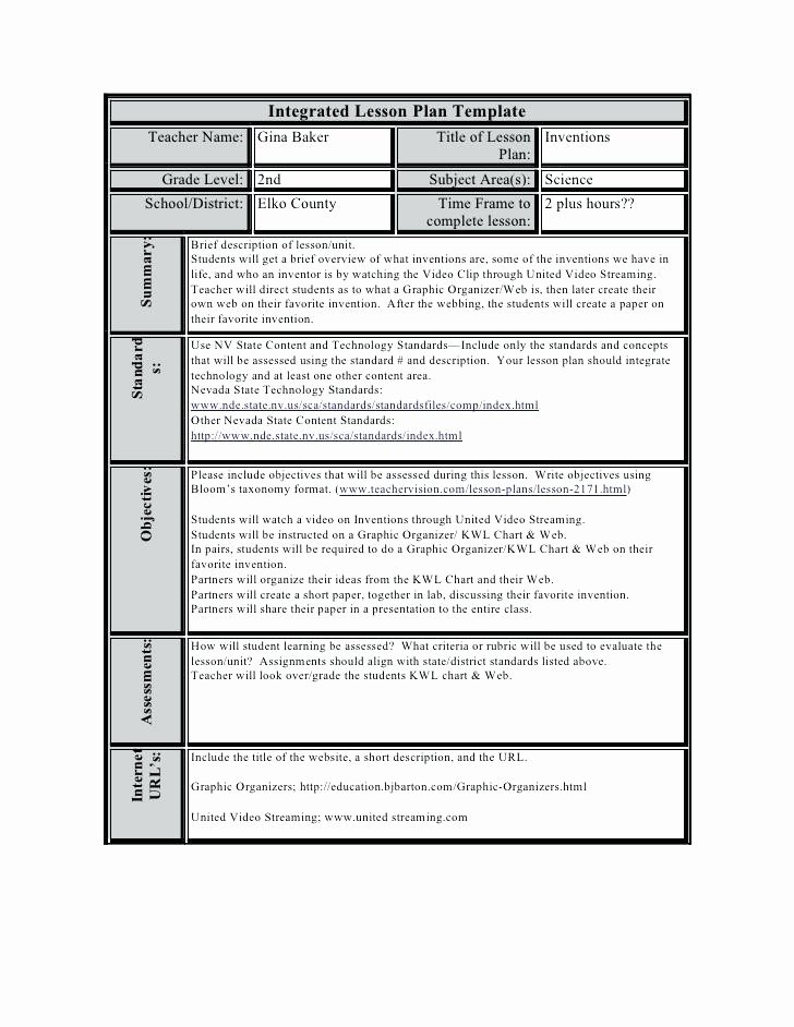 Lesson Plan Calendar Template Luxury Teaching Plan Templates Lesson Template for Teachers High
