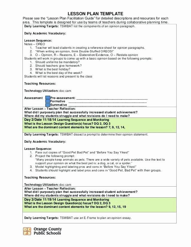 Lesson Plan Template Doc Lovely Lesson Plan Template 2 Elegant Hunter Word Business