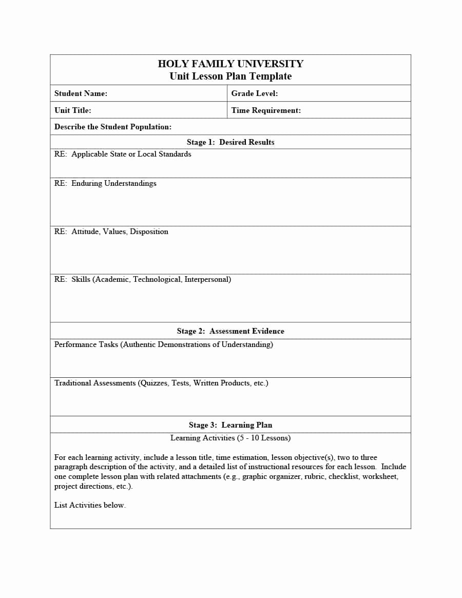 Lesson Plan Template for Elementary Awesome Madeline Hunter Lesson Plan Template Word New Business