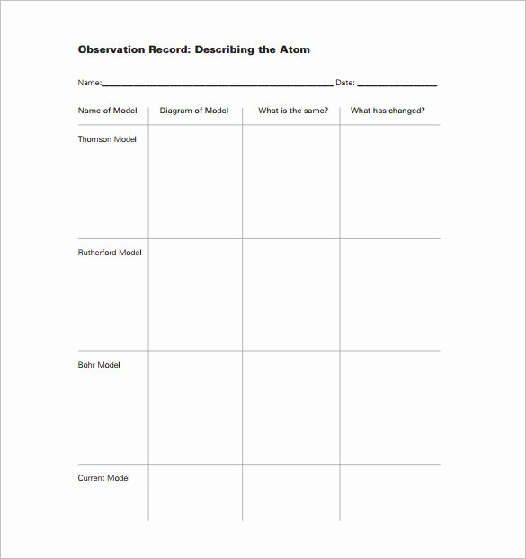 Lesson Plan Template for Elementary Unique Elementary Lesson Plan Template 11 Pdf Word format
