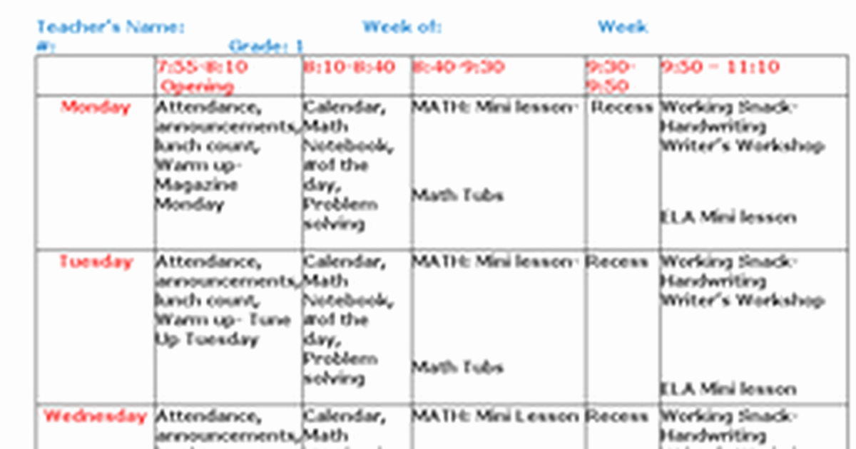 Lesson Plan Template Google Doc Awesome Lesson Plan Template Editablec Google Docs