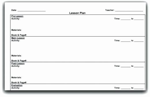 Lesson Plan Template Google Docs Fresh Micro Teaching Lesson Plan Free Editable Teacher Template