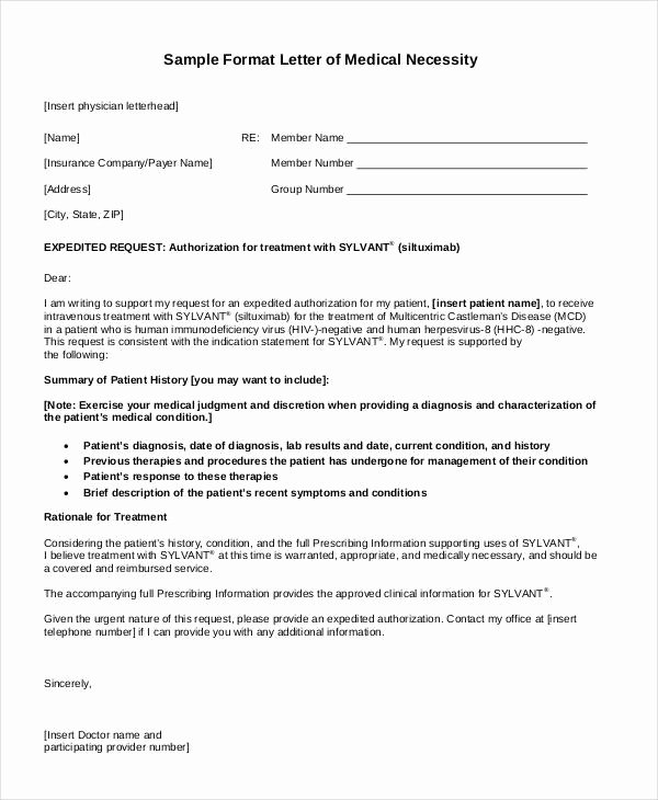 Letter asking for Referrals From Medical Professionals Awesome Medical Letter Template 9 Free Sample Example format