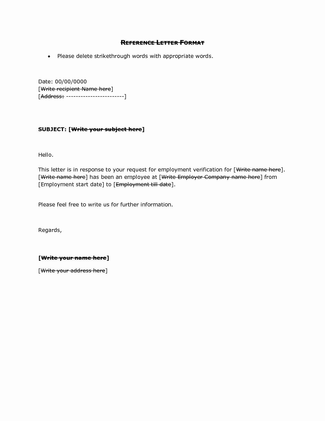 Letter asking for Referrals From Medical Professionals Elegant Reference Letter format Doc Reference Letter