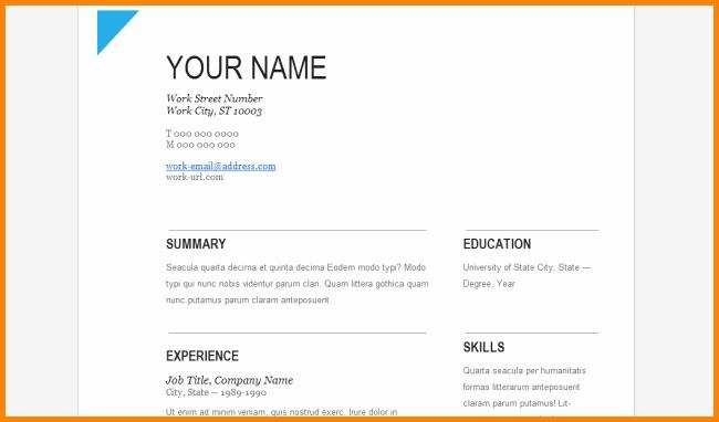 Letter format Google Docs Awesome 7 Resignation Letter Template Google Docs