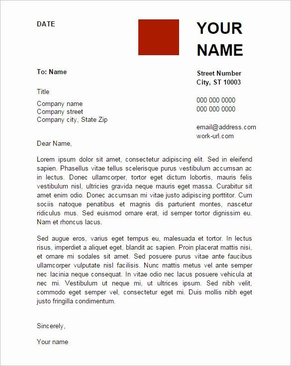 Letter format Google Docs Awesome Letter Template Google Docs