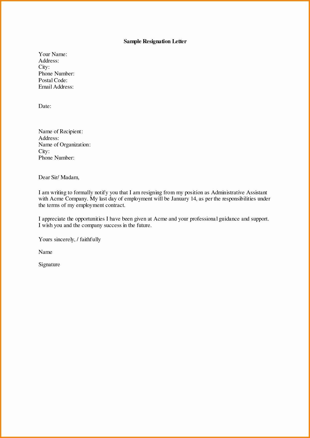 Letter format Google Docs Elegant New Google Docs Resignation Letter Template
