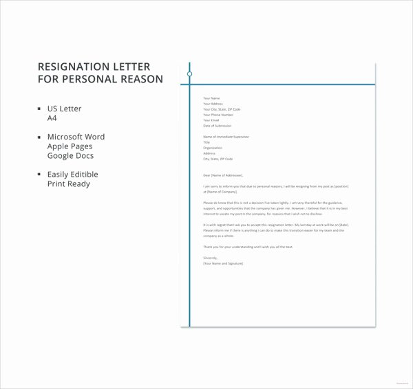 Letter format Google Docs Fresh 40 Personal Letter Templates Pdf Doc