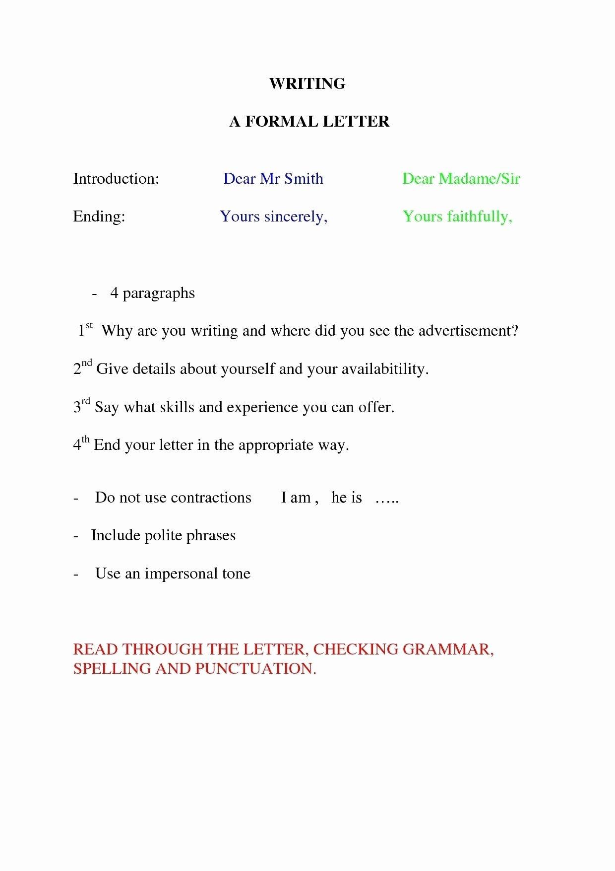 Letter format In Spanish Fresh Save Spanish Letter format Informal
