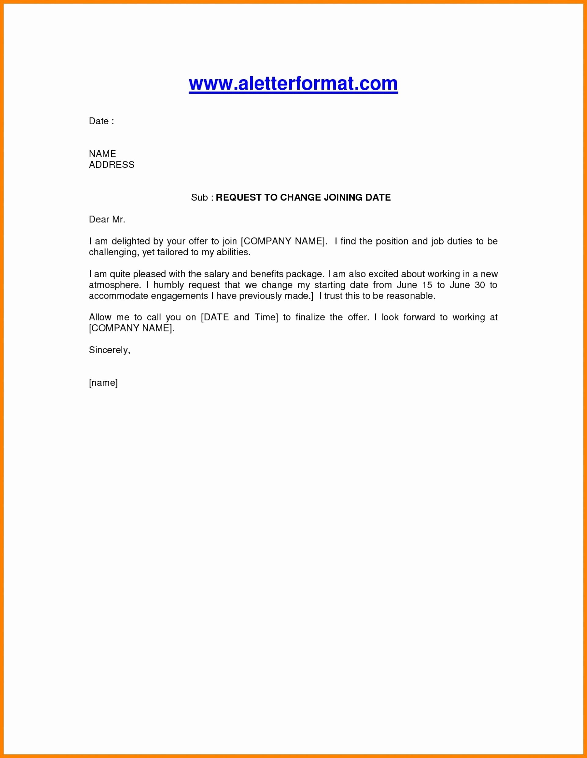 Letter format On Word Elegant Appoint Letter format Appointment Pdf File Simple In India
