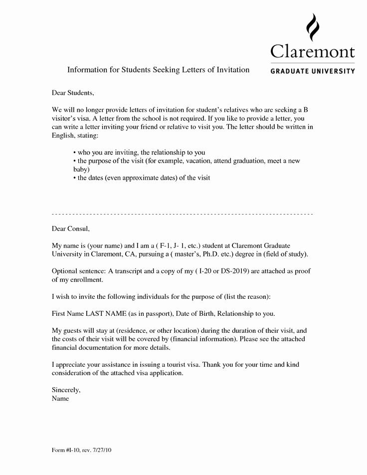 Letter format to A Friend Inspirational Visa Invitation Letter for Friendvisa Invitation Letter to
