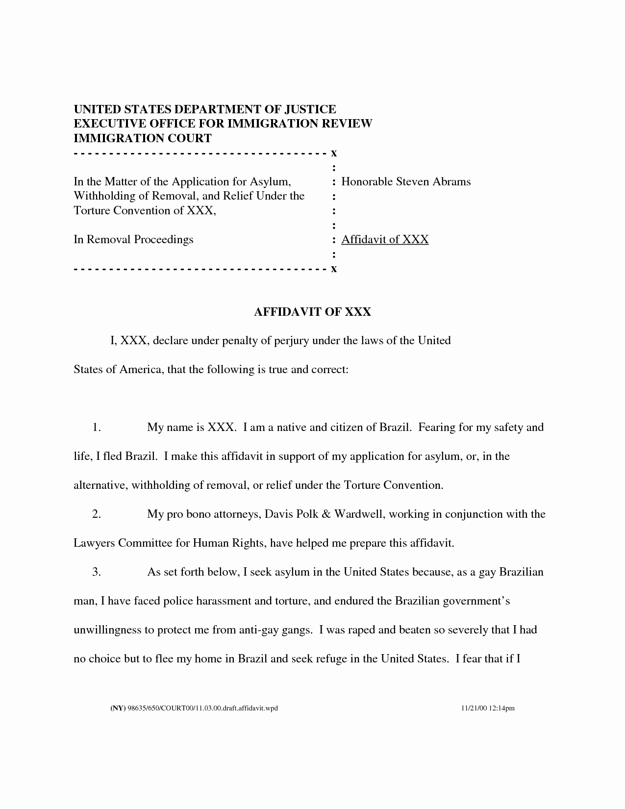Letter Of Affidavit Of Support Elegant Letter to King Tags Immigration Reform Sponsorship Us Visa