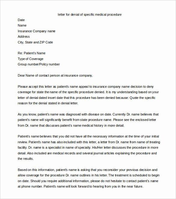 Letter Of Appeal format Inspirational 18 Appeal Letter Templates Pdf Doc