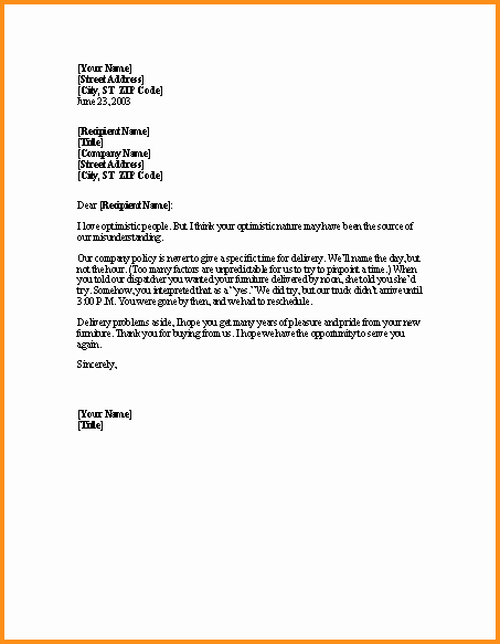 Letter Of Explanation for Address Template Awesome 5 Letter Explanation Sample