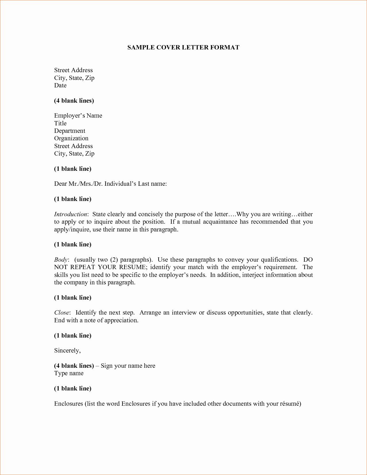 Letter Of Explanation for Address Template Elegant Letter Address format