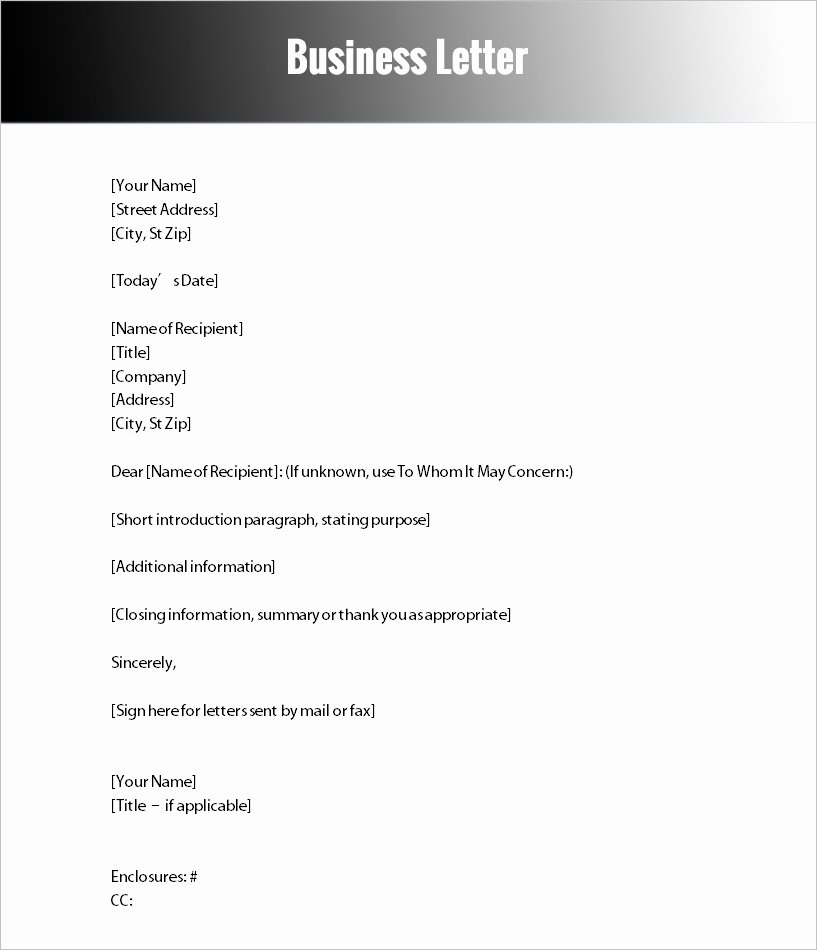 Letter Of Explanation for Address Template Fresh Business Change Address Letter Template Letter Of