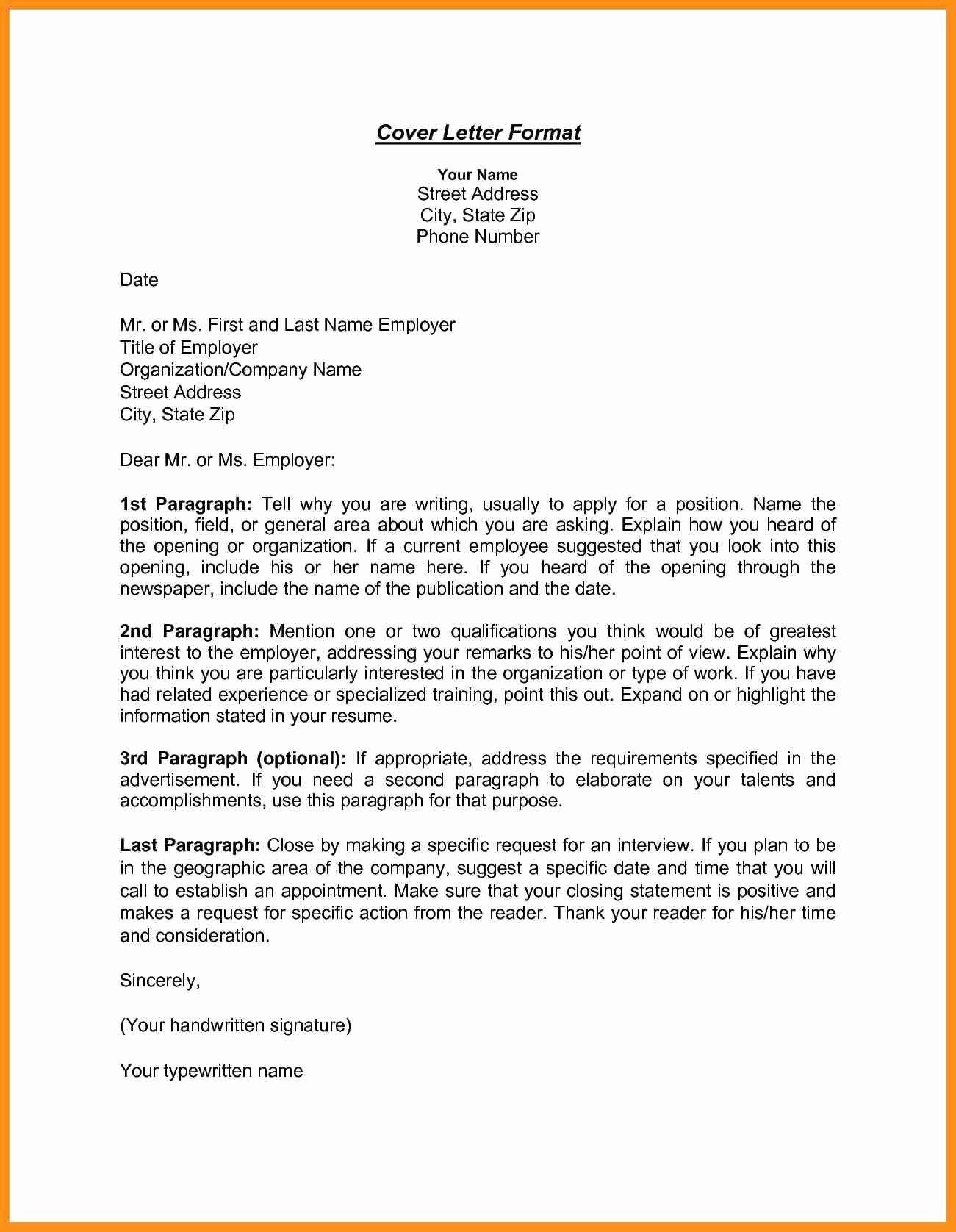 Letter Of Explanation for Address Template Inspirational Inside Address format