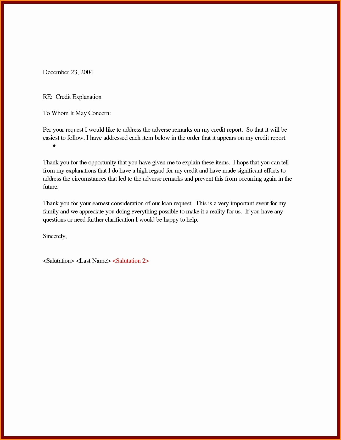 Letter Of Explanation for Address Template Lovely Letter Explanation Template as Well for Previous