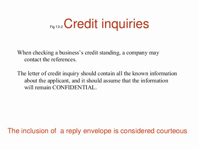 Letter Of Explanation for Credit Inquiries Template Best Of Credit and Collection Letters
