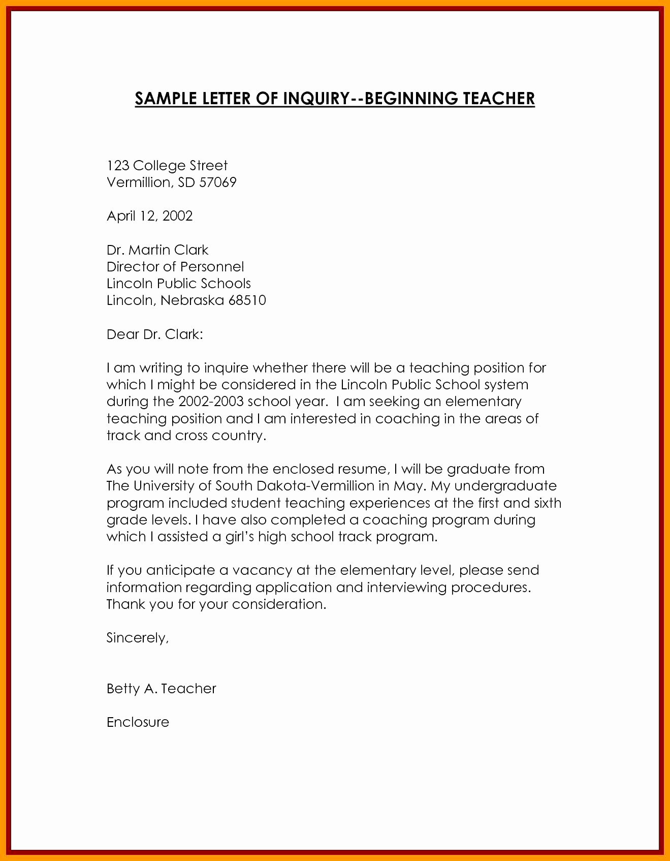 Letter Of Inquiry format Inspirational Example An Inquiry Letter Gta6gamer