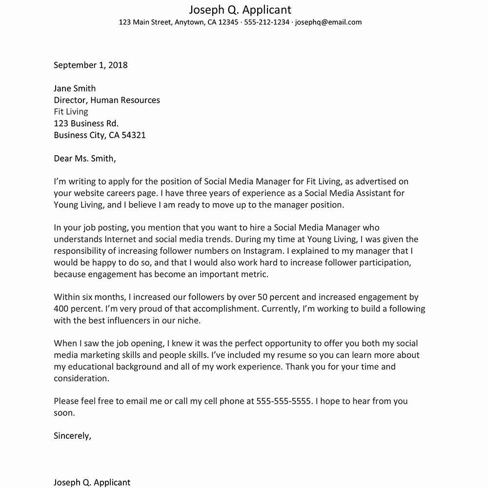 Letter Of Introduction Vs Cover Letter Lovely Free Cover Letter Examples and Writing Tips