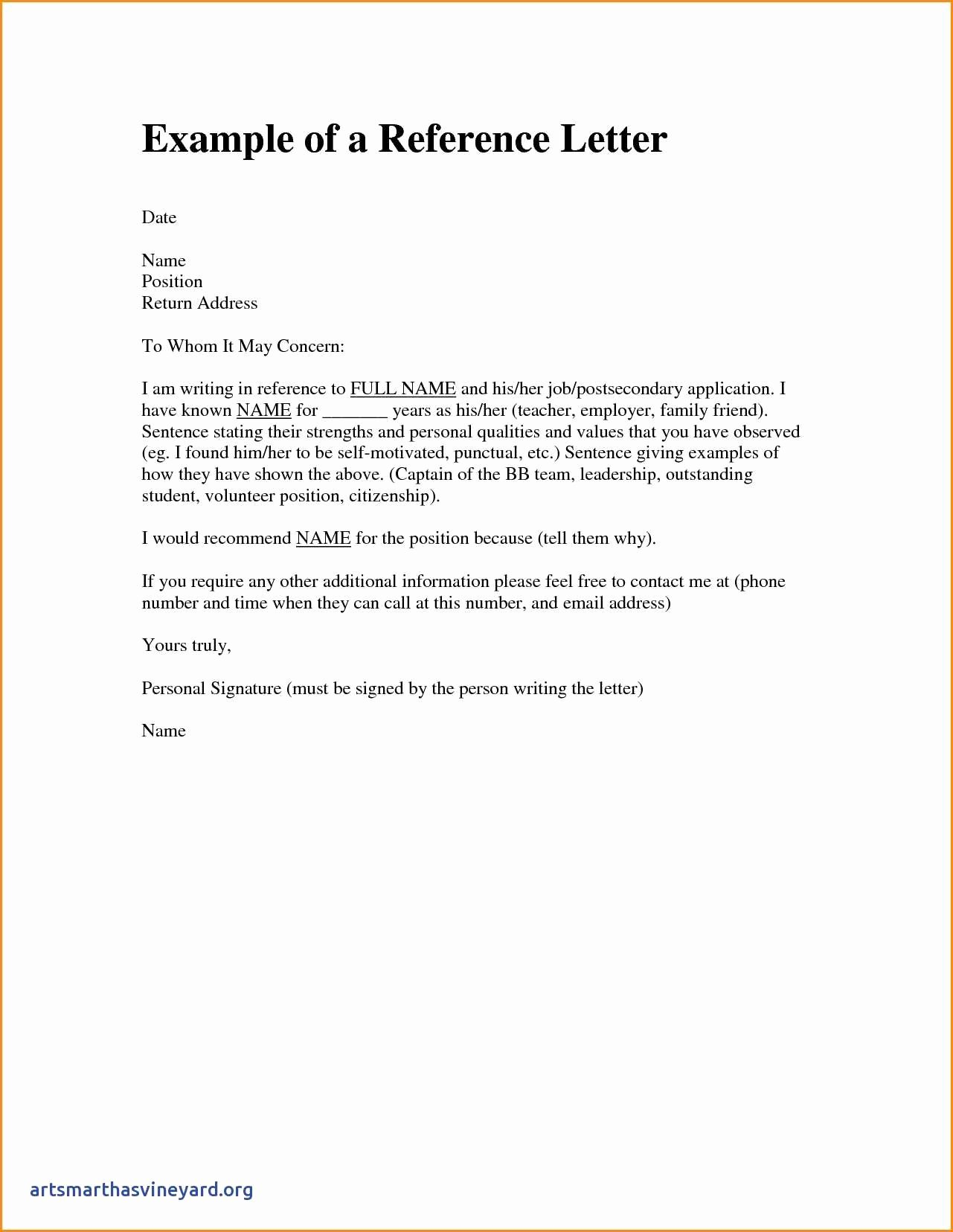 Letter Of Knowing someone for Immigration Awesome Immigration Re Mendation Letter Template Sample